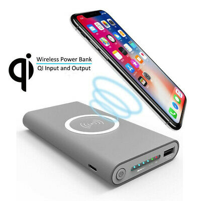 AU26.47 • Buy Power Bank 50000mAh Wireless Charger For Smartphone Fast Charger