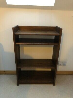 £15 • Buy 4 Shelf Bookcase H91cm X W60cm X D27cm Second Hand And In Reasonable Condition,