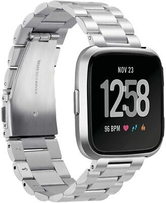 $ CDN117.01 • Buy FITBIT X Public School Stainless Steel Accessory Band For Fitbit Versa NEW $325