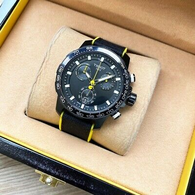 £118.27 • Buy Original With Box Tissot T-Race T111 Series Black/Yellow Dial Cycling Mens Watch