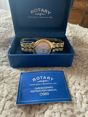 £25 • Buy Rotary Chronograph OS 60 Boxed Watch Brand New, Battery Not Included