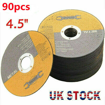 £11.99 • Buy 50x 4.5 115mm Metal Cutting Blade Disc Stainless Steel Angle Grinder Thin 1.2mm