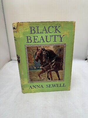 £8.95 • Buy  Black Beauty By Anna Sewell 1950 - Colour Illustrated - HB DJ