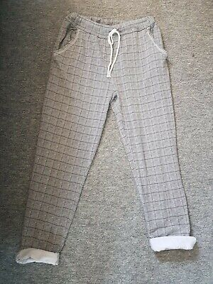 £0.99 • Buy Summer Checked Comfy Trousers