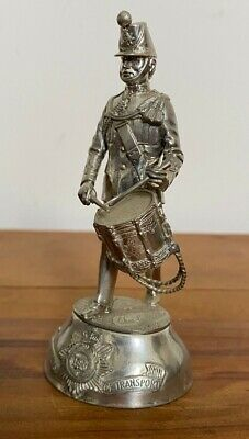 £49.99 • Buy Chas Stadden Pewter Royal Corp Of Transport  Drummer Figure Military Band