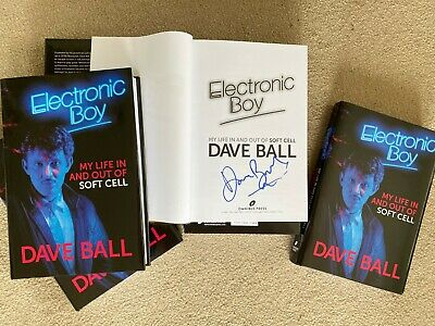 £20 • Buy Electronic Boy: The Autobiography Of Dave Ball SOFT CELL SIGNED BOOKPLATE COPY!