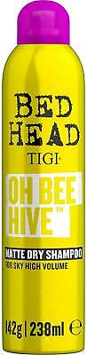 £17.08 • Buy TIGI Bed Head Oh Bee Hive Dry Shampoo For Volume And Matte Finish Brand 238 Ml