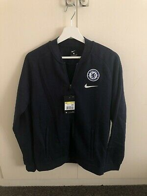 £65 • Buy Original Chelsea F.C Nike Track Jacket Dark Blue | Size Small | With Tags