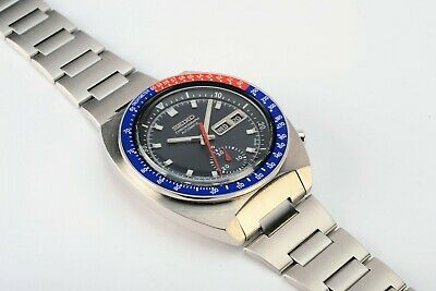 $ CDN1038.66 • Buy  Rare Vintage Seiko 6139-6002 Pogue Day Date Chronograph Automatic S.S Watch