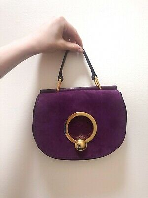 £70 • Buy Coccinelle Suede Bag With Tags And Protective Bag. Comes With The Shoulder Strap