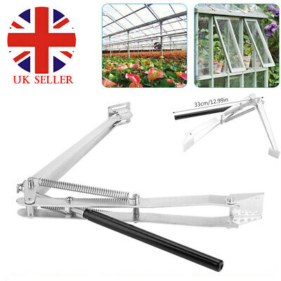 £17.99 • Buy Greenhouse Automatic Window Opener Double Spring Temperature Control Opener
