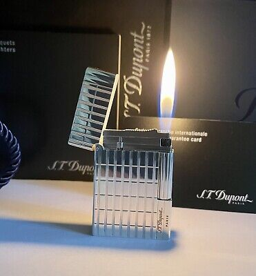 £180.54 • Buy Lighter Dupont Gatsby💎Silver💎Plated🔥NEW🔥CONDITION🔥