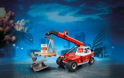 £32.99 • Buy Playmobil 9465 City Action Fire Crane With Pallet Fork Attachments