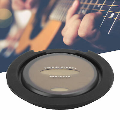 £8.81 • Buy Acoustic Guitar Sound Hole Cover Humidifier W/2 Picks For 40/41inch Folk Guitars