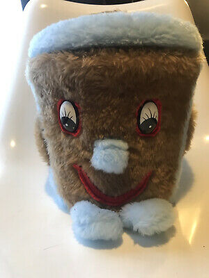 £14.99 • Buy Retro 3-2-1 Dusty Bin 1970's Large Furry Toy Bin With Lid - Great Condition