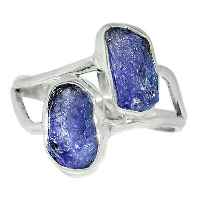 £8.85 • Buy Tanzanite Crystal, Tanzania 925 Sterling Silver Ring Jewelry S.9.5 BR65855