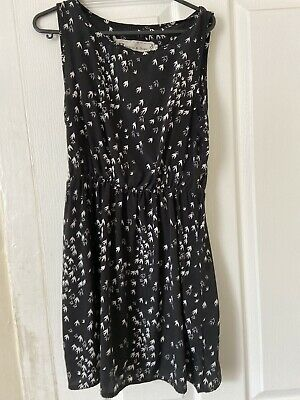 £0.99 • Buy Hearts And Bows Swallow Print Dress Size 8