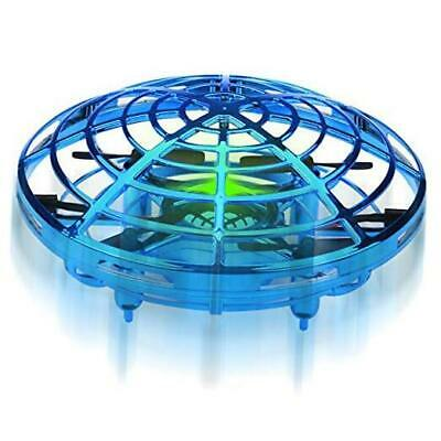 AU37.52 • Buy  Hand Operated Mini Drones Kids Flying Ball Toy Birthday Gifts For Boys Blue
