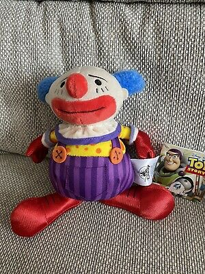 £39.99 • Buy New With Tag Disney Store Chuckles Clown Toy Story 3 Soft Plush Doll 7