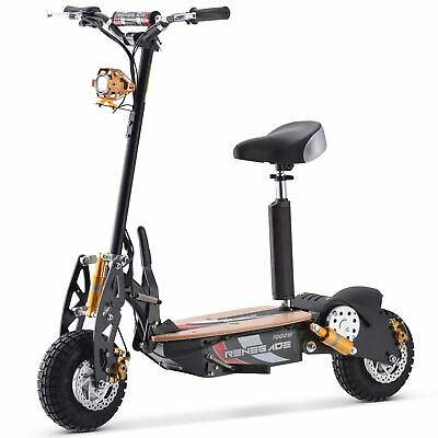 £599.95 • Buy Renegade 1000W Powerboard 36V Rechargeable Electric Scooter - Black