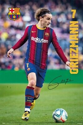 £7.53 • Buy Football - Fc Barcelona Griezmann Poster Poster Print (36x24in) #130234
