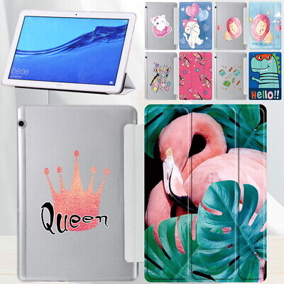 £4.99 • Buy UK PU Leather Cover Case For Huawei  MediaPad T3 10 9.6  / T5 10 10.1 Tablet