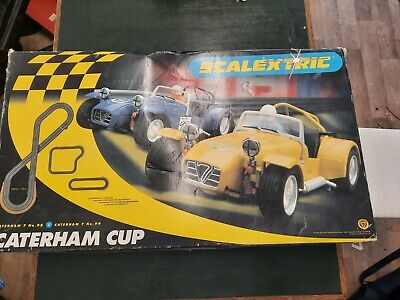 £22.50 • Buy Scalextric Set Caterham Cup Incomplete