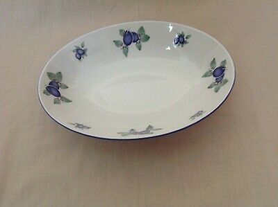 £12.99 • Buy Royal Doulton Blueberry Oval Open Vegetable Dish 9.75  Excellent Condition