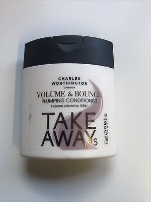 £0.99 • Buy Charles Worthington Plumping  Hair Conditioner  75 Ml Travel Size New