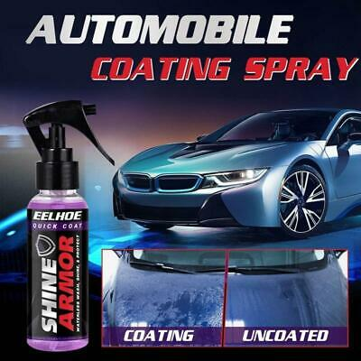 $11.99 • Buy Shine Armor Ceramic Car Wash Fortify Quick Coat Polish And Sealer Spray Cleaning