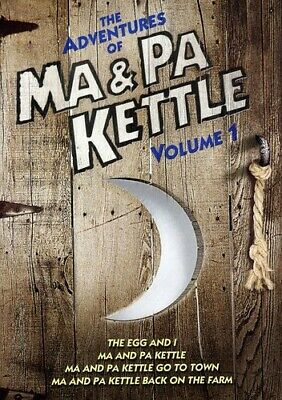 $4.86 • Buy The Adventures Of Ma & Pa Kettle: Volume One [The Egg And I / Ma And Pa Kettle /