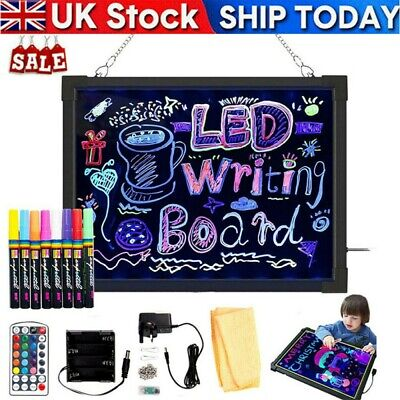 £11.99 • Buy Sensory LED Light Up Writing Drawing Board Autism Special Need ADHD Kid Gift Toy