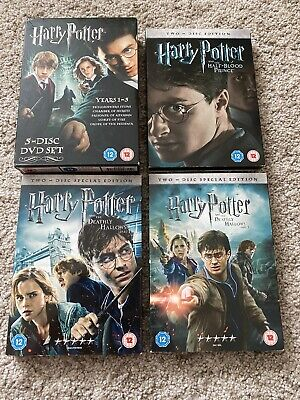 $ CDN20.57 • Buy Harry Potter Complete Dvd Film Collection Inc Years 1-5 Box Set