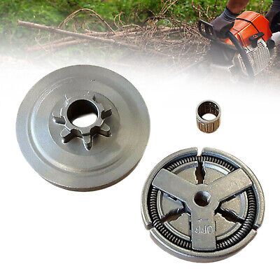 £10.11 • Buy Sprocket Clutch Drum Set For Chinese 4500/5200/5800 45CC/52CC/58CC Chainsaw UK