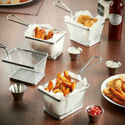 £10.75 • Buy Snacks Chip Food Serving Baskets French Fries Crisps Dish Party Restaurant Style