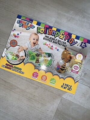 £0.99 • Buy Baby Sensory Play Roll, Bop, And Play Inflatable Set 6 Months + Ideal Gift