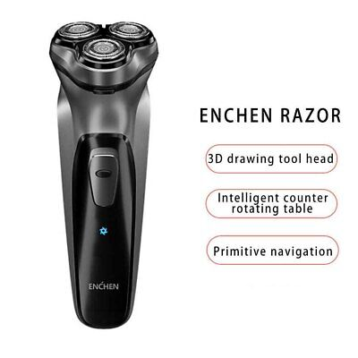 £14.59 • Buy Mens Electric Shaver Razor Wet/Dry Rechargeable Rotary Cordless USB Charging UK·