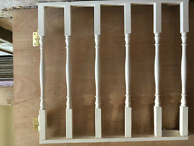 £5.90 • Buy Wooden Stair Gates, White Painted, Hardware Mounted