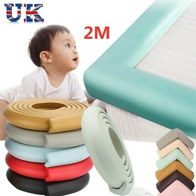 £4.72 • Buy 2M Baby Head Protection Foam Safety Table Edge Corner Guards Baby Head Protector