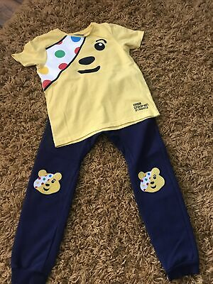 £0.99 • Buy Pudsey Children In Need Outfit. Joggers & T-shirt. Age 5-6. George