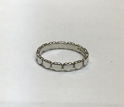 £123.13 • Buy Tiffany & Co Paloma Picasso Hearts Sterling Silver Size 6.75 Ring