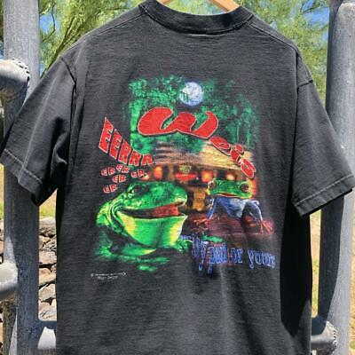 $ CDN57.68 • Buy VTG 90s Budweiser Frogs 1995  My Pad Or Yours TV Beer Promo Bud T Shirt L