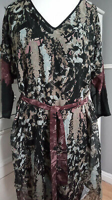 £4 • Buy Ladies Laura Ashley Dress With Belt Size 20 Lined BNWT