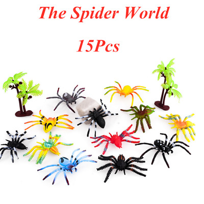 £5.59 • Buy 15Pcs Kid Toy Insects Bugs Spider Plastic Action Animal Model Figures Child Gift