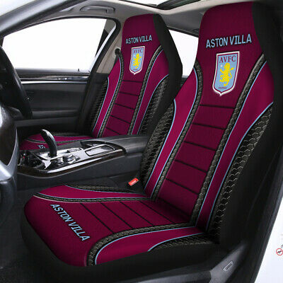 £43.14 • Buy Aston Villa Logo Car Seat Cover EPL The Lions Football For Fans