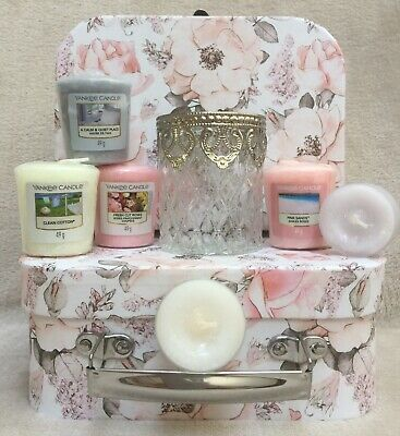 £16.79 • Buy Yankee Candle Gift Hamper For Her Votives/Holder Box Set Ladies Birthday Getwell