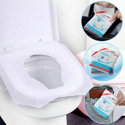 £4.99 • Buy 30 X Toilet Seat Covers Paper Travel Flushable Hygienic Disposable BV