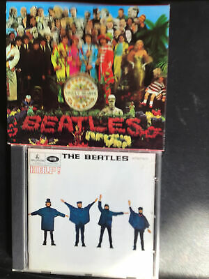 £2.99 • Buy THE BEATLES - Help & Sgt. Pepper's Lonely Hearts Club Band (2 CD's)