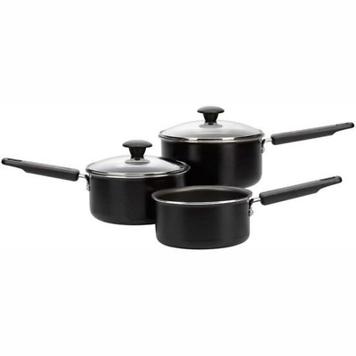 £27.90 • Buy Prestige 3 Piece Quick And Easy Non Stick Sauce Pan Set New 21447