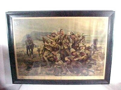 £353.29 • Buy 1902  R. Caton Woodville 37x27 South African War Lithograph Print G. Whitehead